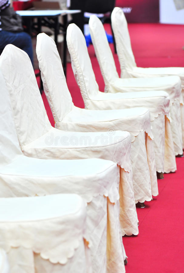 Guest seats stock photo