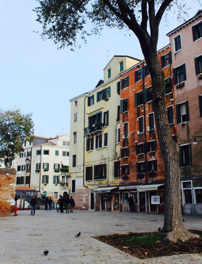 Gueto de Veneza foto de stock