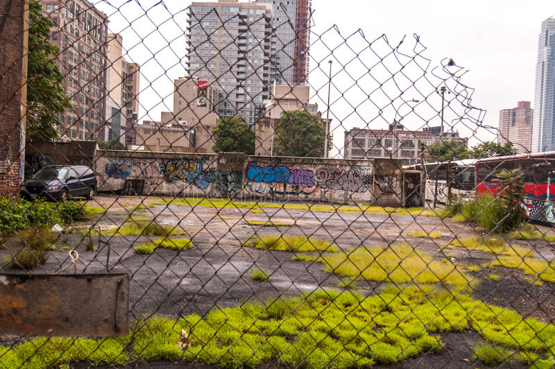 Gueto em NY fotografia de stock royalty free