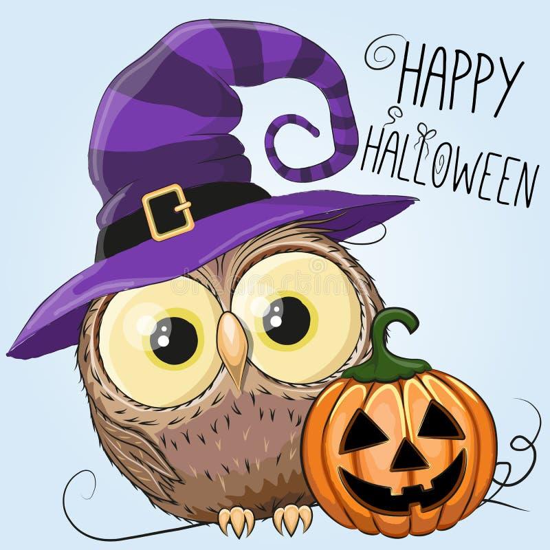 Gufo di Halloween royalty illustrazione gratis