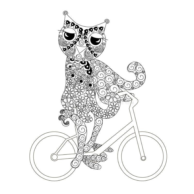 Bicicletta Stilizzata Illustrazione Vettoriale Illustrazione Di