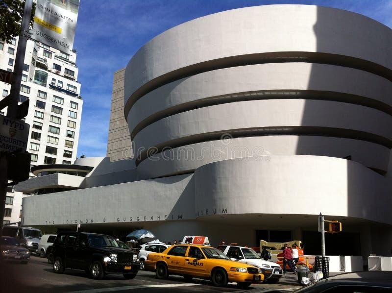 Guggenheim - Нью-Йорк стоковое фото rf