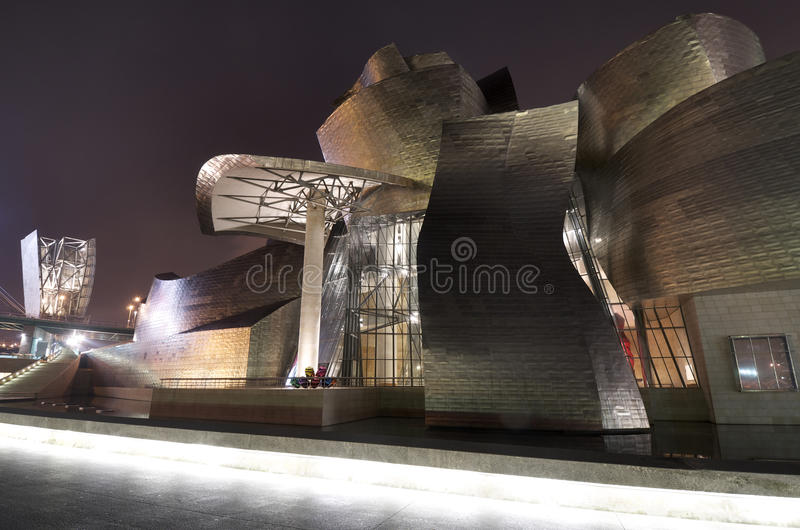 Download Guggenheim editorial stock photo. Image of gehry, mirror - 22232373