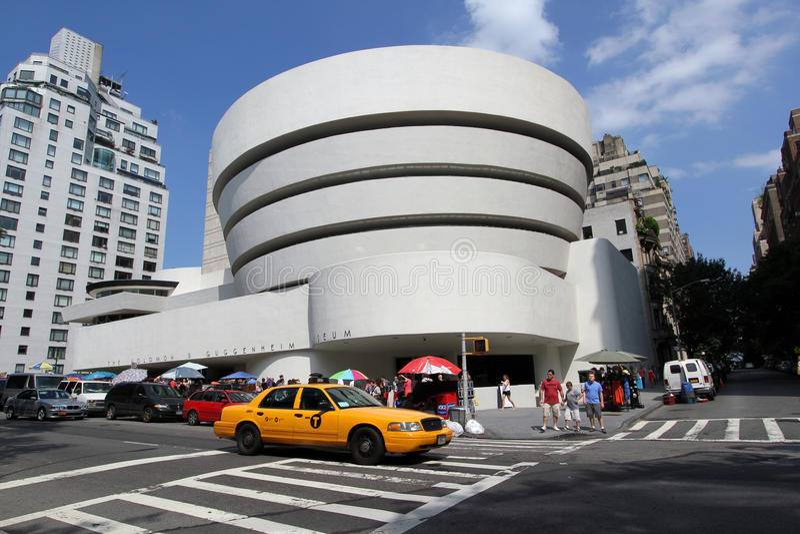 Guggenheim Art Museum NYC fotografering för bildbyråer