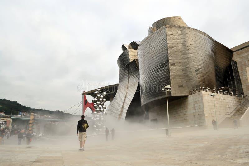 Guggenheim Bilbao fotografía de archivo libre de regalías