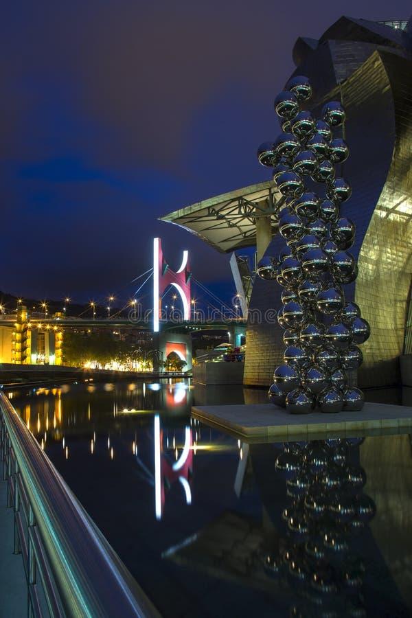 Guggenheim - Bilbao - l'Espagne photographie stock libre de droits