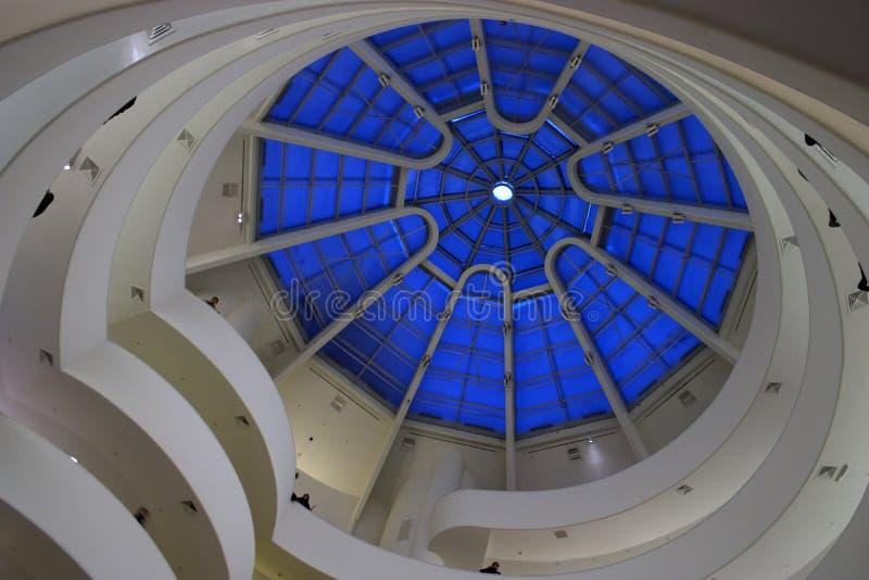 Guggenheim Celing stock fotografie