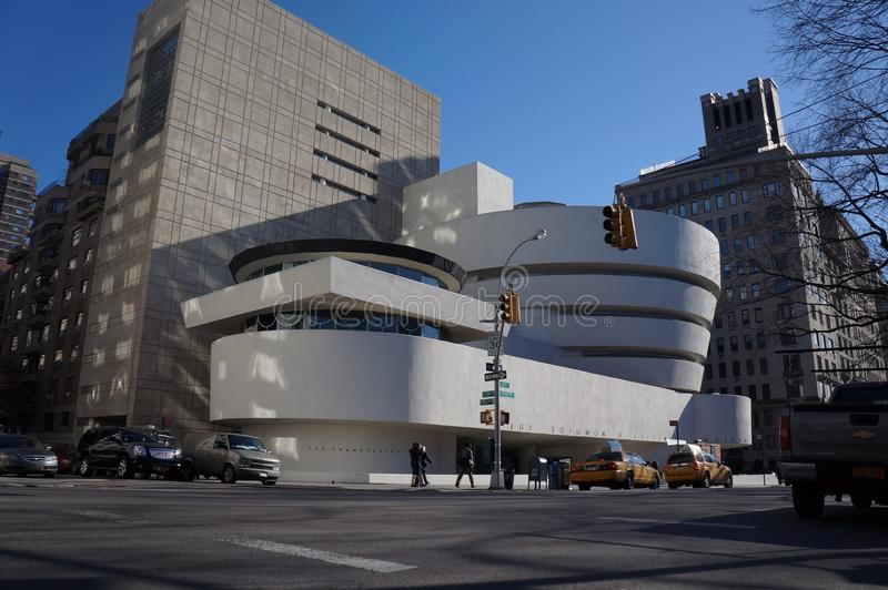 Guggenheim del tejado fotografía de archivo libre de regalías