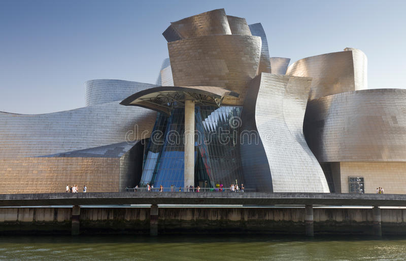 Download Guggenheim Museum Bilbao editorial image. Image of basque - 26639770