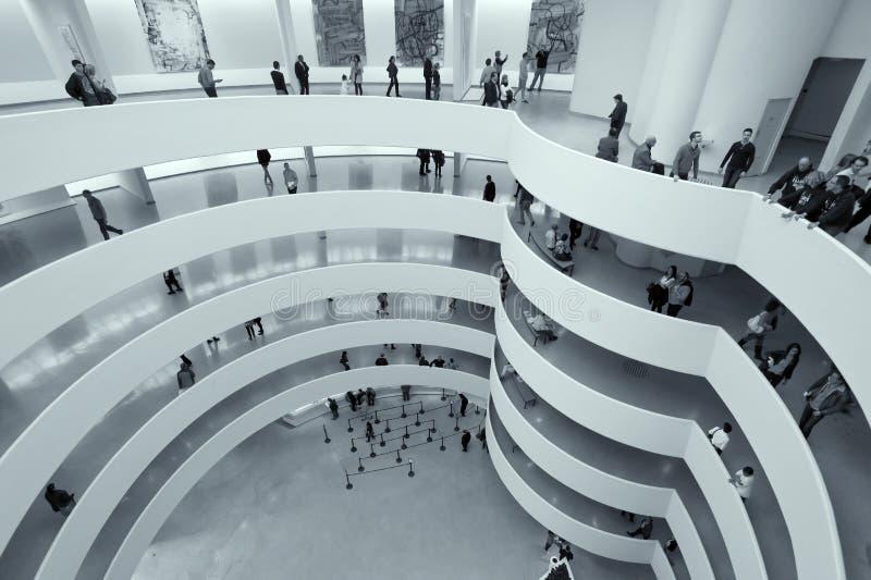Guggenheim muzeum Miasto Nowy Jork zdjęcia royalty free