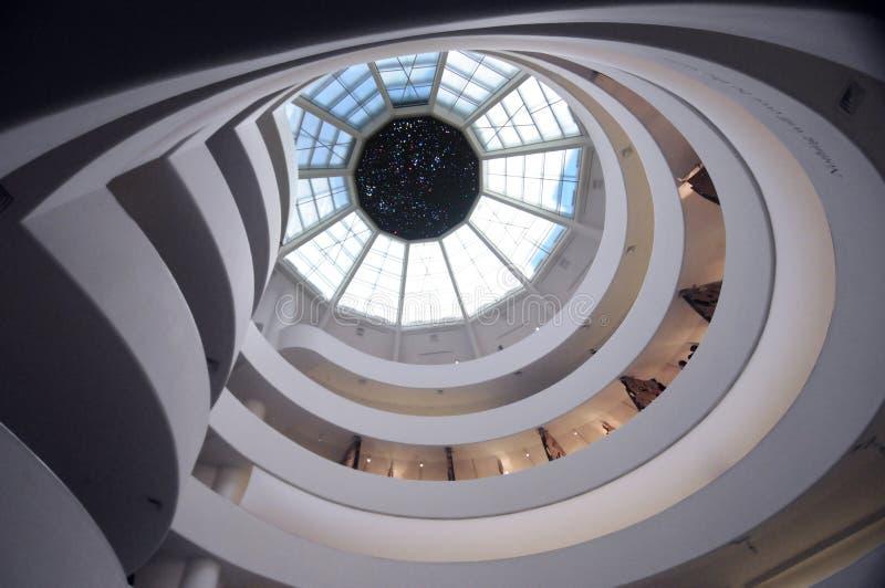 Guggenheim, New York stock photography