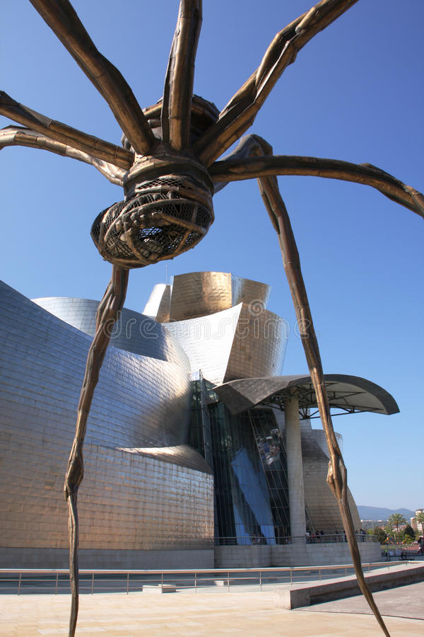 Download Guggenheim spider editorial photo. Image of culture, contemporary - 21424411