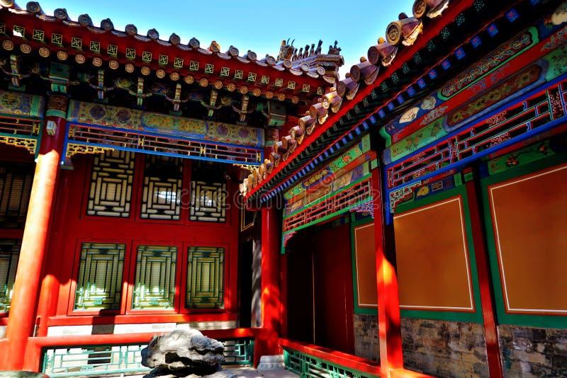 GuGong & x28; A Cidade Proibida & x29; no Pequim, China fotografia de stock