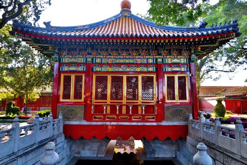 GuGong & x28; Forbidden City & x29; i Peking Kina royaltyfria bilder