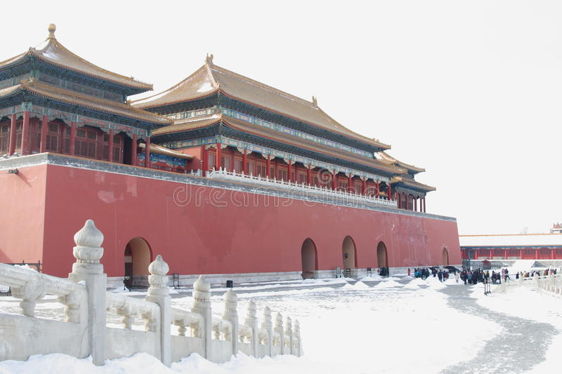GuGong (Forbidden City, Zijincheng) stock photos