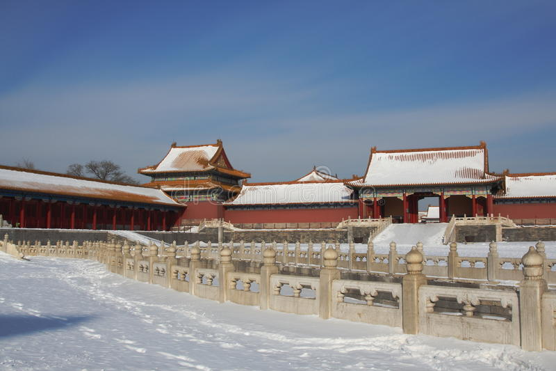 GuGong (ville interdite, Zijincheng) images libres de droits