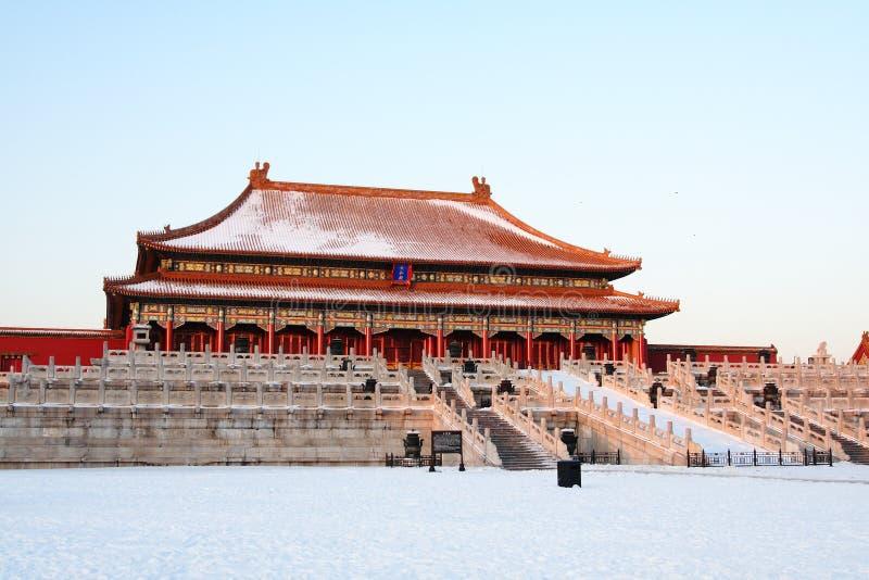 GuGong (ville interdite, Zijincheng) image stock