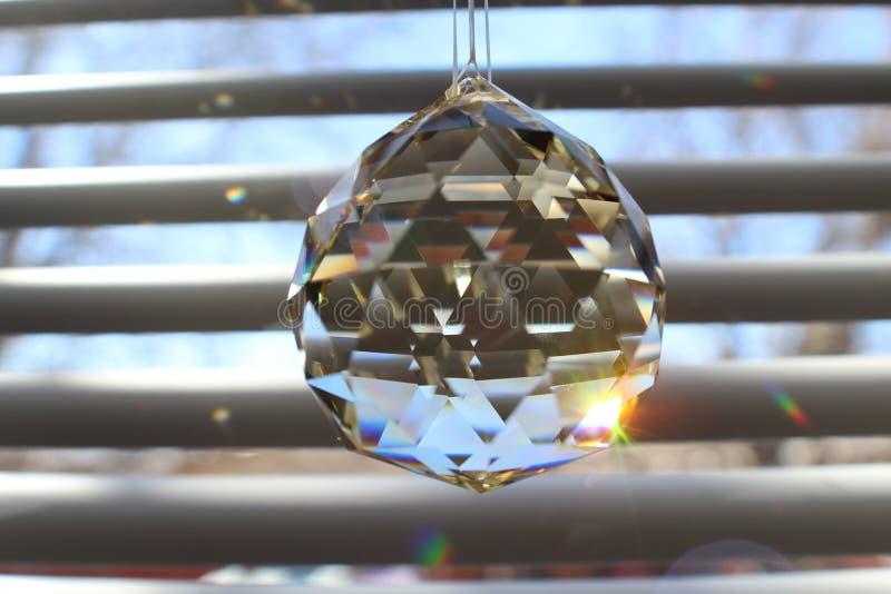 Guiño del cristal fotos de archivo