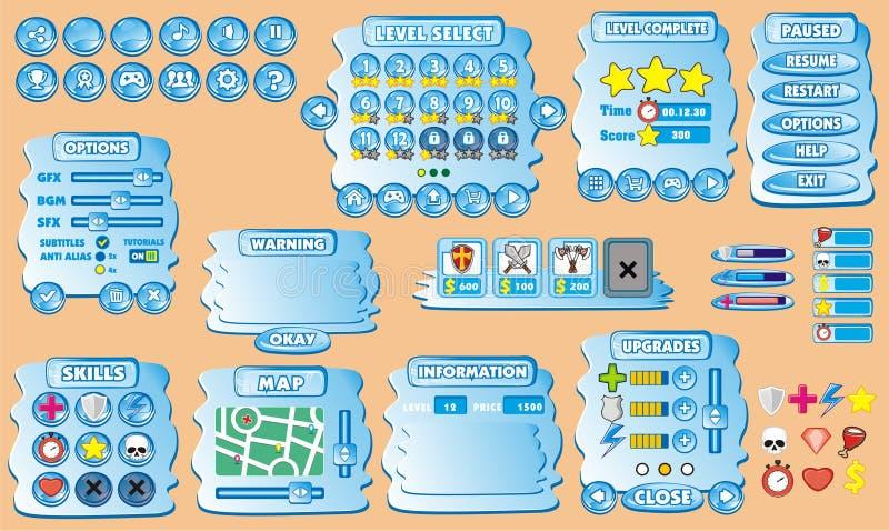 Gui 39 παιχνιδιών ελεύθερη απεικόνιση δικαιώματος