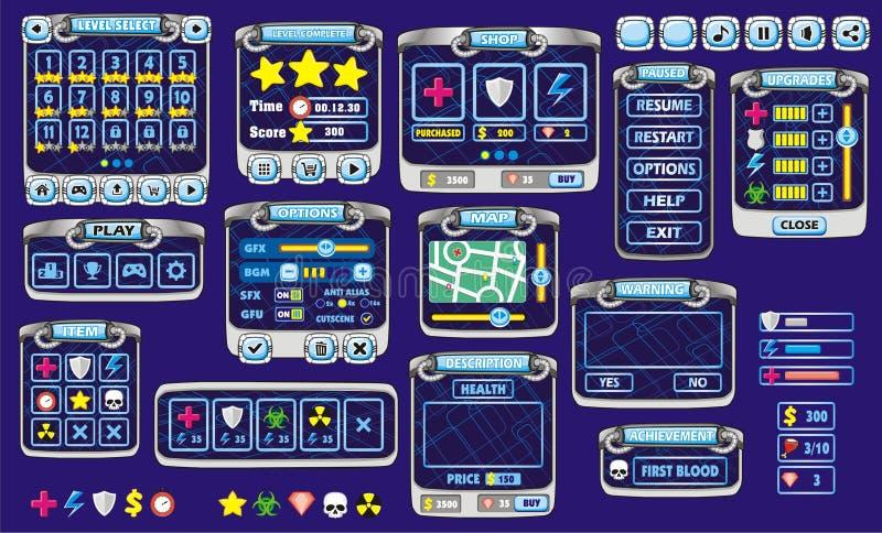 Gui 41 παιχνιδιών απεικόνιση αποθεμάτων