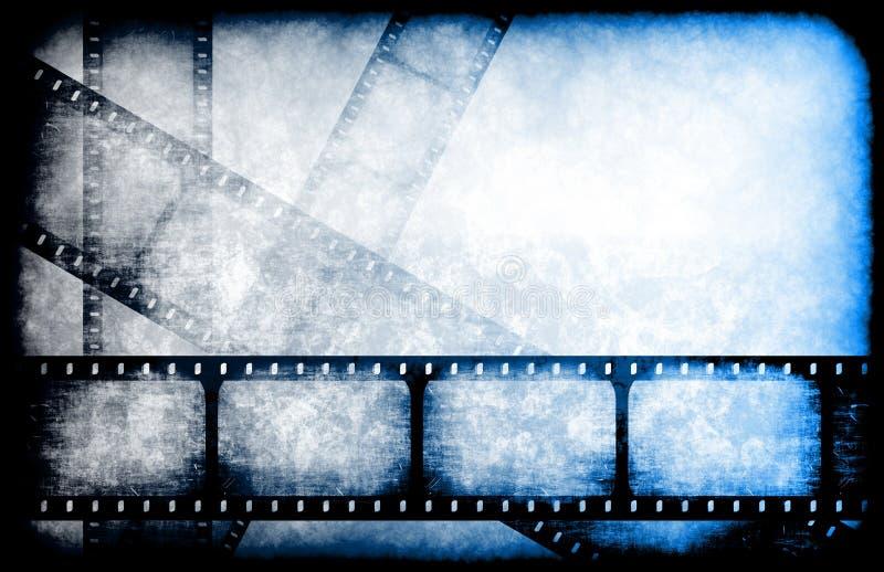 Guia do filme do canal de televisão ilustração royalty free