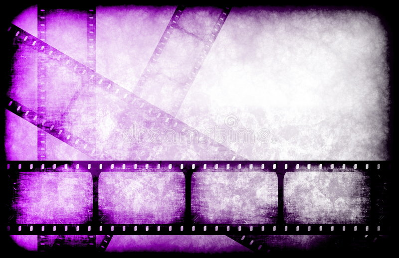 Guia do filme do canal de televisão ilustração stock