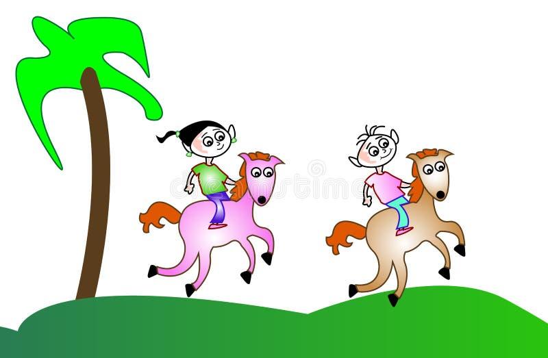 Guida dei bambini illustrazione vettoriale