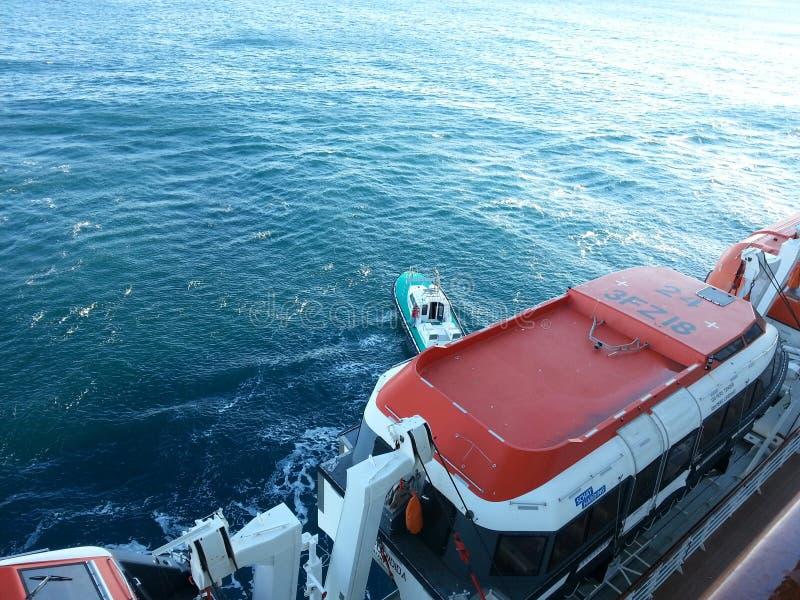 Guida di Barca fotografia stock