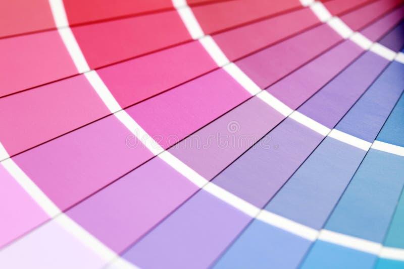Guida di colore fotografie stock libere da diritti