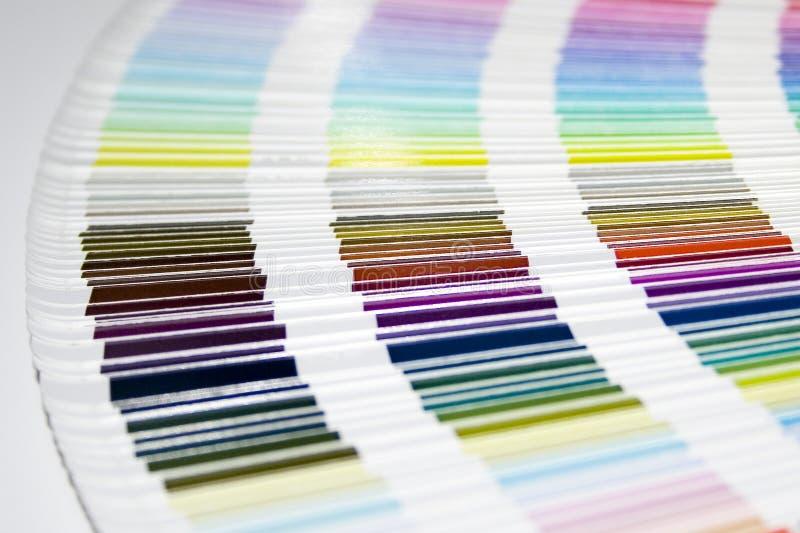 Guida di colore immagine stock