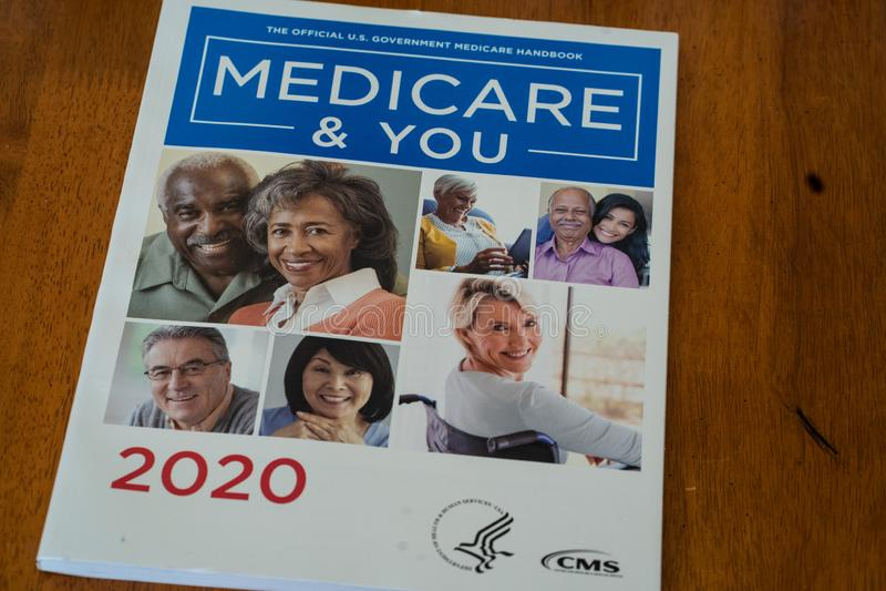 Guida per Medicare e You 2020 immagini stock