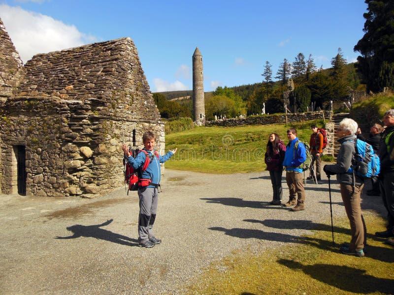 Guida turistica Irlanda immagini stock