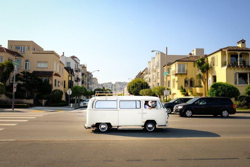Guidando a San Francisco fotografie stock
