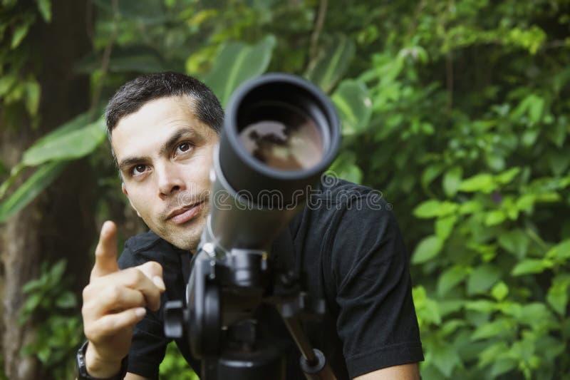 Guide beau de nature image stock