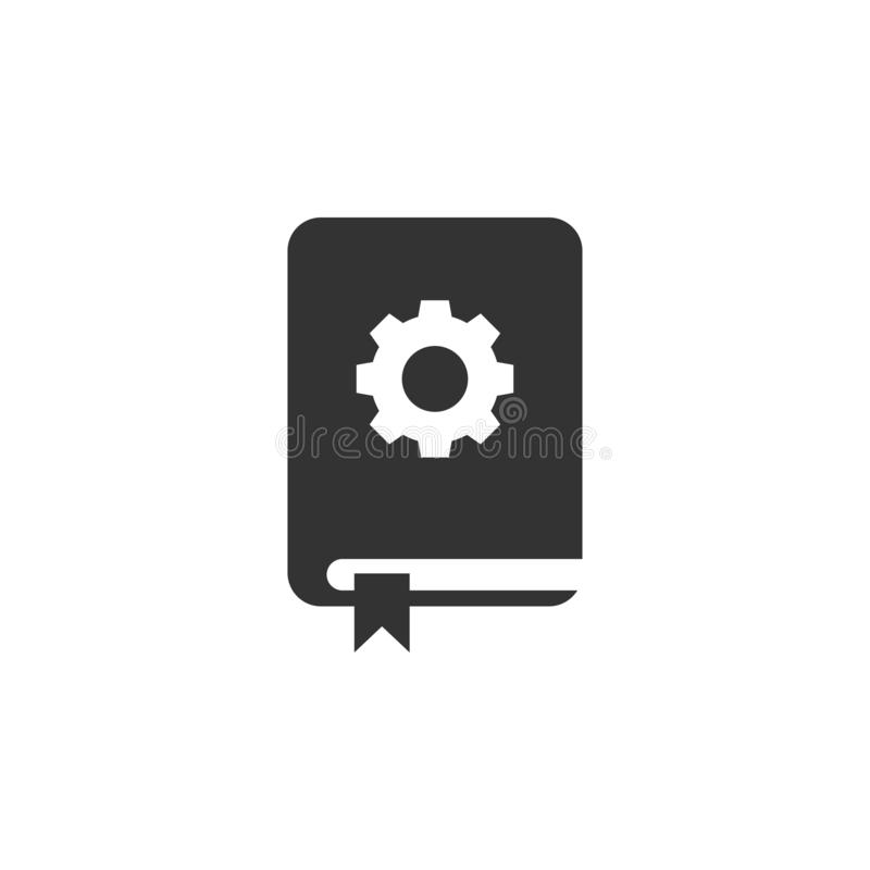 Guide book support icon graphic design template vector royalty free illustration
