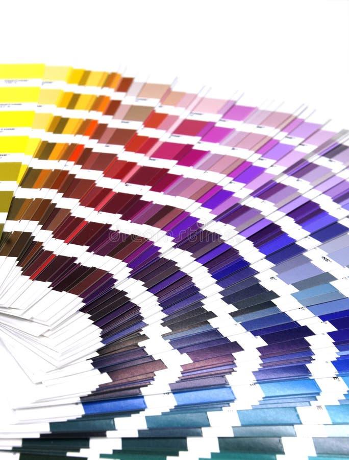 Guide de couleur images libres de droits