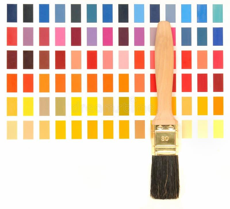Guide de couleur photo stock