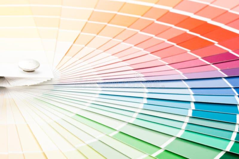 Guide de couleur. images libres de droits