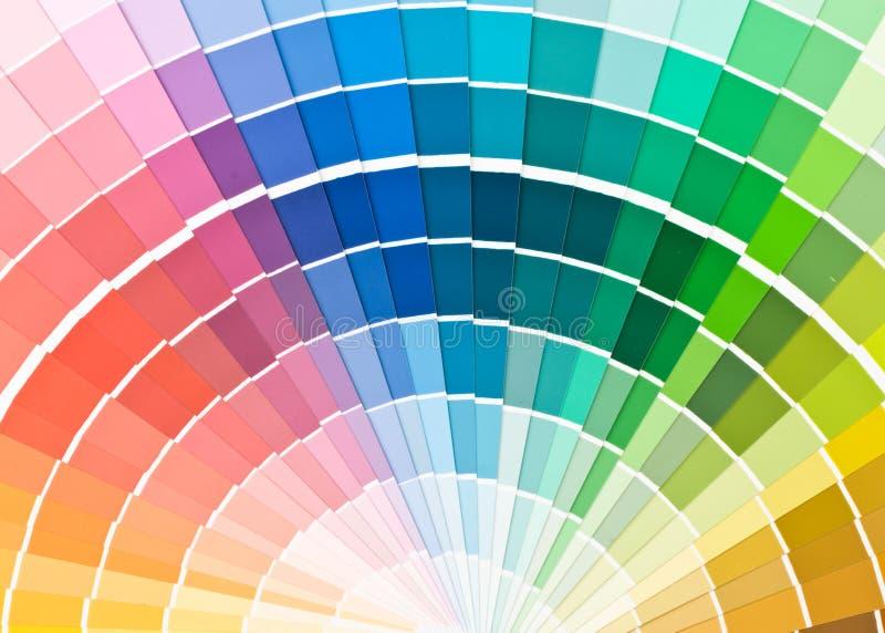 Guide de couleur. photographie stock libre de droits