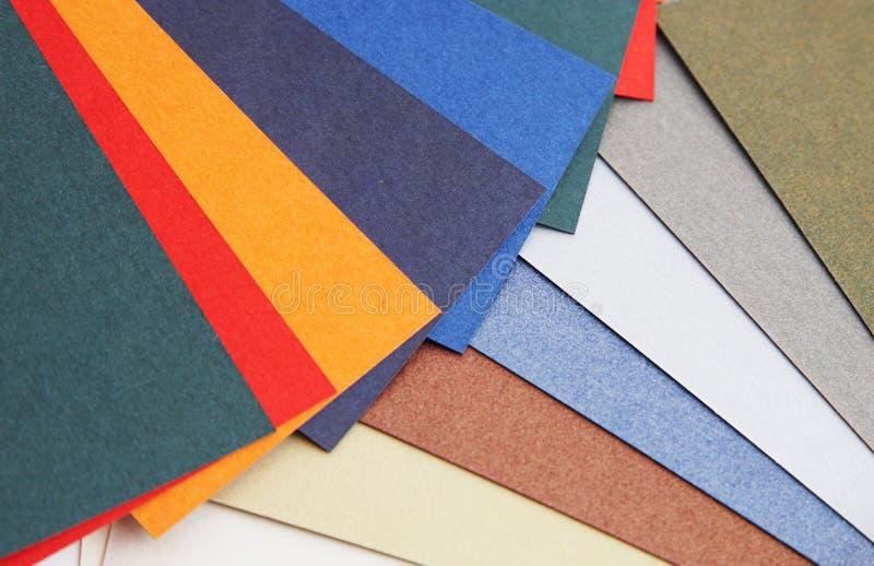 Guide de couleur image stock