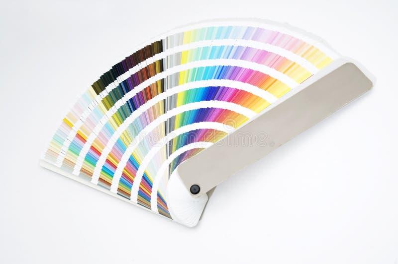 guide de couleur de diagramme d'isolement images libres de droits