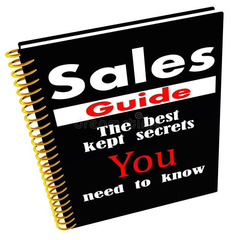 Guide de ventes des secrets illustration de vecteur