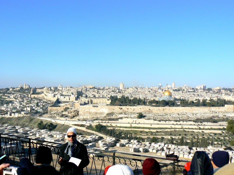 Guide touristique - Israël image libre de droits