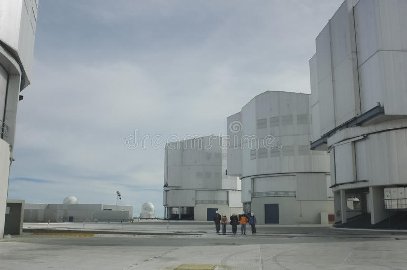 Guided tour to Cerro Paranal Observatory royalty free stock images