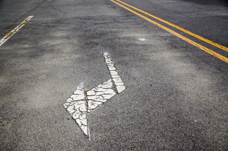 Guidepost da estrada imagem de stock