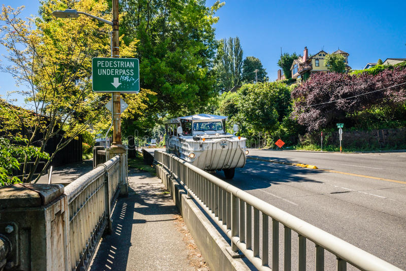 Guidi Duck Seattle Washington fotografie stock