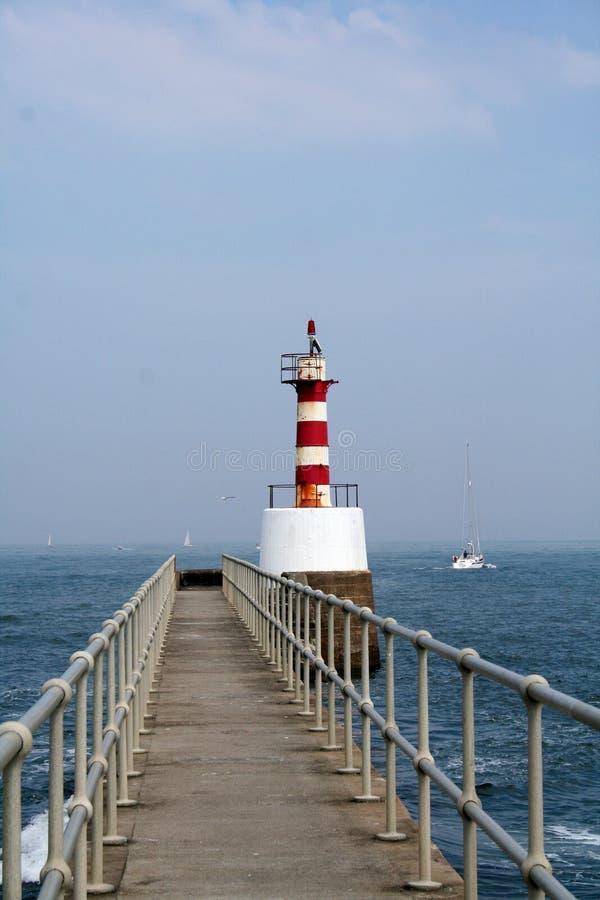 Guiding lighthouse royalty free stock photos