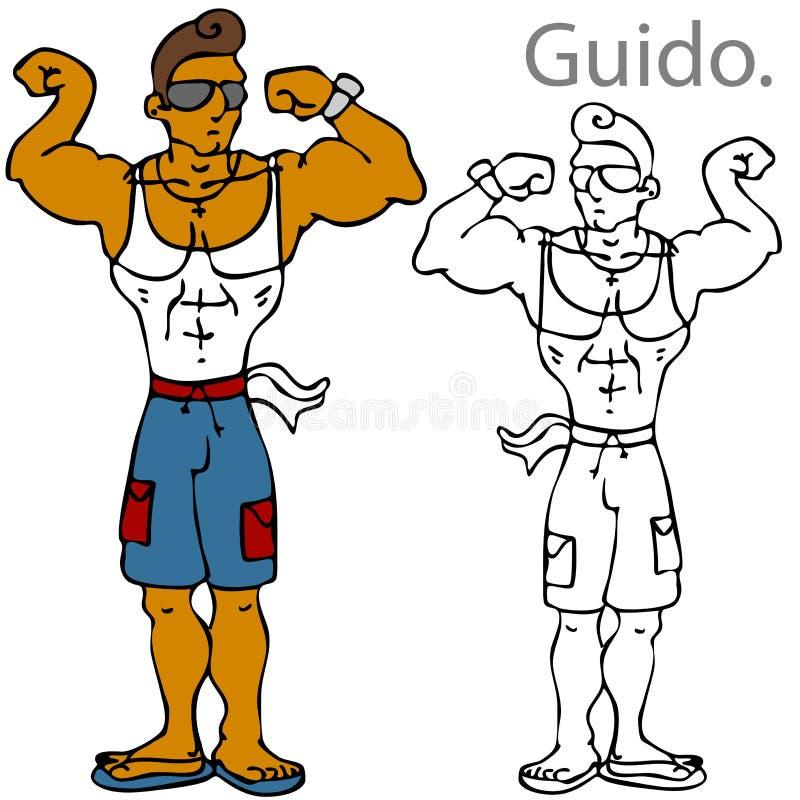 Guido stock illustratie
