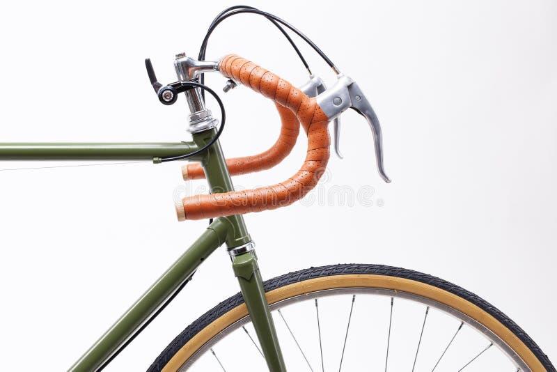 Guidon de bicyclette de vintage photo libre de droits