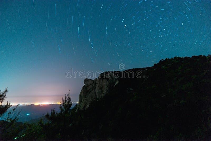 Guifeng-Gebirgsstern-Spur lizenzfreie stockfotografie